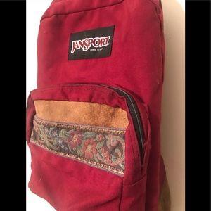 Vintage Leather 90s Backpack
